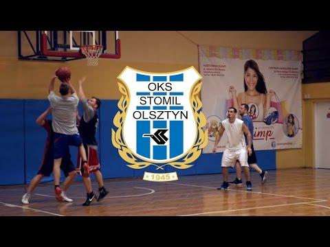 Trening koszykarzy Stomilu Olsztyn