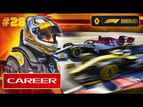 F1 2019 Career Mode Part 28: The Illegal Overtake