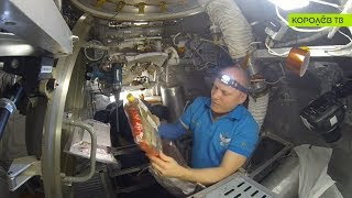 Космонавт Олег Артемьев провёл экскурсию по МКС