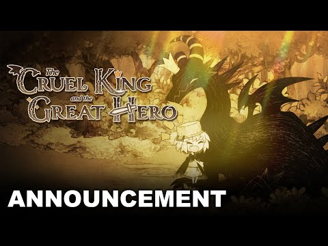 The Cruel King and the Great Hero - Announcement Trailer (Nintendo Switch, PS4) de The Cruel King and the Great Hero