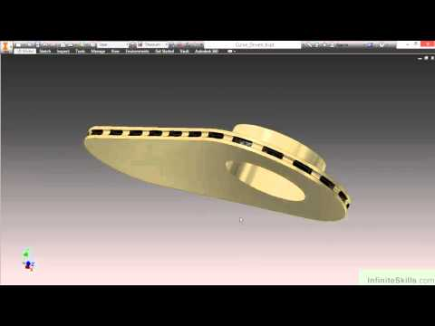 Autodesk Inventor - Advanced Parts Tutorial   About The Course ...