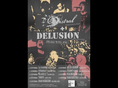 Delusion - DELUSION - New Song (official Video STRIKE TOUR 2016)