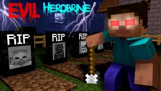 Monster School: HEROBRINE BECAME EVIL - RIP MONSTER SCHOOL