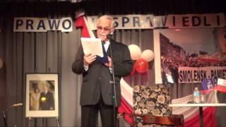 preview picture of video 'Jan Pietrzak Ottawa 2012 (1/3) Noc Wolności - Kanada (5-10-2012)'
