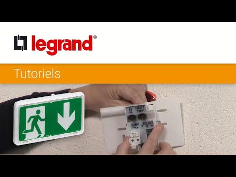 Installer un BAES SATI connecté Legrand facilement sur une installation existante