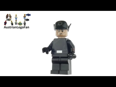 Vidéo LEGO Star Wars 5004406 : First Order General (Polybag)