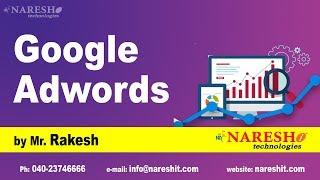 Google Adwords Tutorial | Digital Marketing Tutorials | by Mr.Rakesh