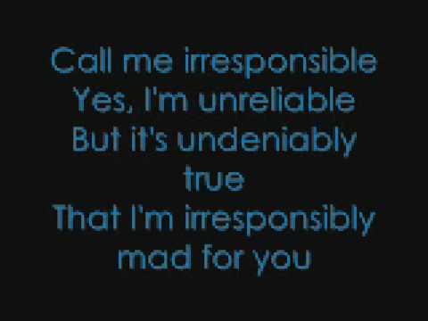 Michael Bublé Call Me Irresponsible with Lyrics