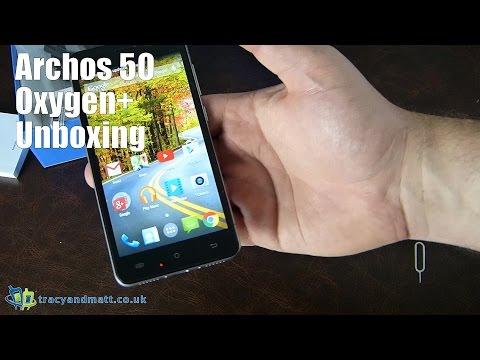 Unboxing Archos 50 Oxygen+