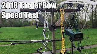 Fastest Target Bows: 2018 Target Bow Speed Test