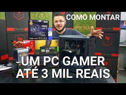 « COMO MONTAR um PC GAMER » Até 3 Mil Reais... Montagem