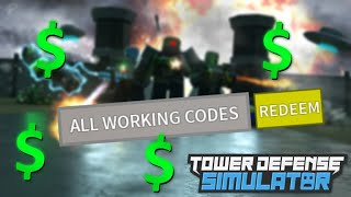 codes for tower defense simulator roblox - TH-Clip