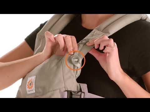 Как одевать Ergobaby Omni 360 Carrier