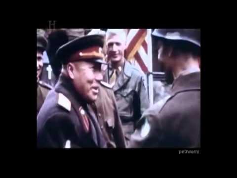 Встреча союзников на Эльбе 1945