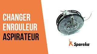 Comment réparer votre aspirateur - Remplacer l\'Enrouleur ?