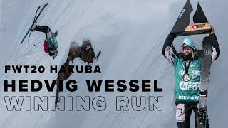 FWT20 Hakuba | Hedvig Wessel Ski Women Winning Run