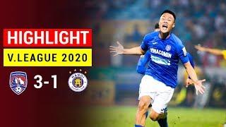 Highlight 4K   Than Quảng Ninh vs Hà Nội   Quảng Ninh Vùi Dập nhà đương kim vô địch Hà Nội