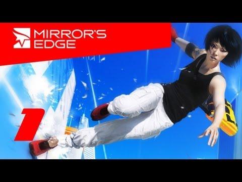 Mirrors Edge прохождение с Карном. Часть 1