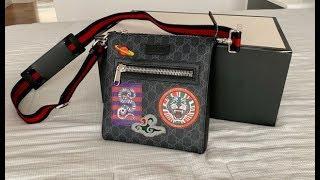 Gucci Bag/Night Courier GG Supreme Messenger Mens Bag Unboxing