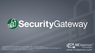 Security Gateway by MDaemon-video