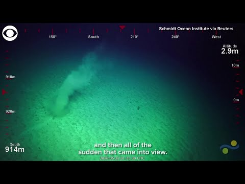 Scientists spot an underwater