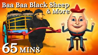 Baa Baa Black Sheep | Humpty Dumpty Kids Songs & More 3D English Nursery Rhymes For Children