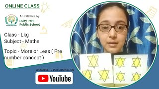 Pre-Number Concept | More or Less | Mathematics for LKG Students | Ruby Park Public School Thumbnail