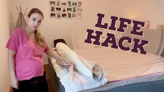 Große Bettdecken beziehen wie ein Profi | ganz entspannt ohne Rückenschmerzen | Rollmops Methode