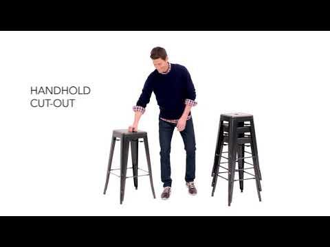 Pinnadel Tall Stool