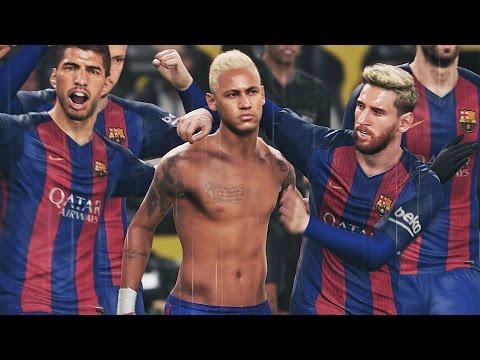 Barcelona vs Real Madrid   El Clasico - Camp Nou   HD 60FPS   PES 2017