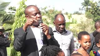 """Abalongo abaafudde! Minisita Kibuule ayogedde, """"Ndi mweegefu okufa nsange abaana bange"""