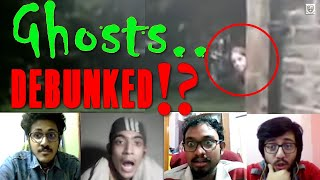Ghosts caught on camera | Real Ghosts ?! | Debunking Ghost videos !? | Bhoot & Bhoi | Nuke's Top 5