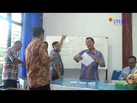Dok Humas Untad, Selamat Atas Terpilihnya Dekan FMIPA Untad Dr.RusydI, M.Si