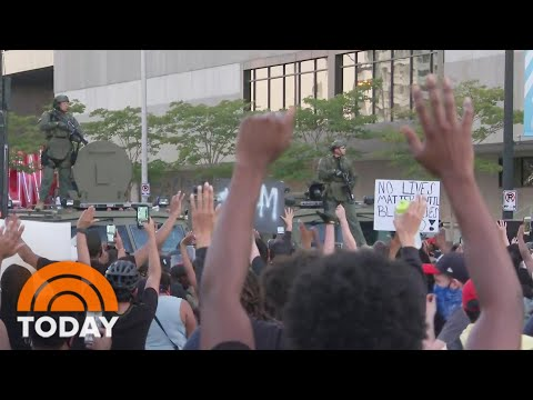 Nationwide Protests Intensify Over Death Of George Floyd   TODAY