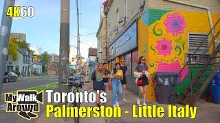 Walking Tour Of Torontos Palmerston - Little Italy Neighbourhood Filmed On June 3 2020