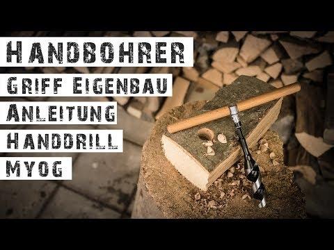 ANLEITUNG - HAND-DRILL DIY - Eigenbau Griff für Handbohrer