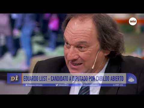 Eduardo Lust, abogado y candidato a diputado por Cabildo Abierto