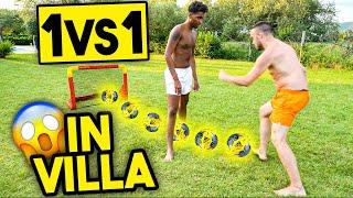 1 vs 1 TORNEO di CALCIO in VILLA!!! w/Elites