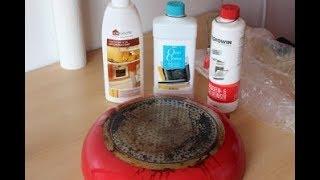 тест  средств для плит и духовок - faberlic, Prowin, Amway,/ Backofenreiniger Test