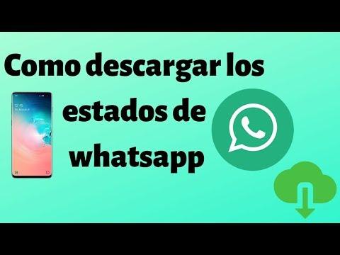 Cómo descargar los vídeos e imágenes de los estados de Whatsapp