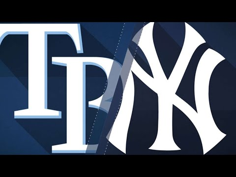 Montgomery, Hicks lead Yanks past Rays, 6-1: 9/26/17