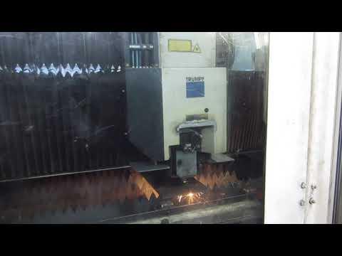 Wycinarka Laserowa CNC Trumpf TCL 4050, z systemem ładującym LOADMASTER - zdjęcie