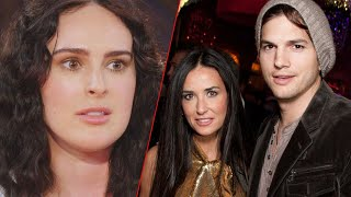 Rumer Willis Has Finally Come Cl-ean About Demi Moore And Ashton Kutcher's Relationship