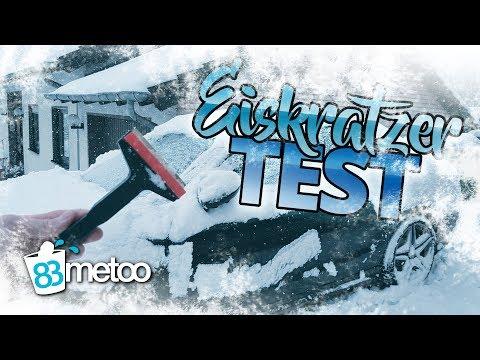 Eiskratzer Test und Auto kratzerfrei von Schnee befreien | Auto Winter Life Hacks| Murska Eiskratzer