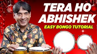 Tera Ho Abhishek Aman Ke Rajkumar - Easy Bongo Drum Lesson | Hindi Christmas Songs | Yeshu Ke Geet - Download this Video in MP3, M4A, WEBM, MP4, 3GP