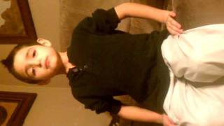 2 Pac Dear Mama Little Kid (Caleb) Rapping