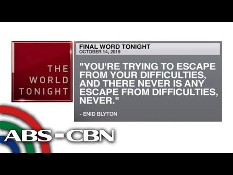 [ABS-CBN]  Final Word – October 14, 2019 | ANC