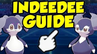Indeedee  - (Pokémon) - DOUBLES DOMINATION INDEEDEE! Pokemon Sword and Shield Indeedee Moveset Guide - How To Use Indeedee