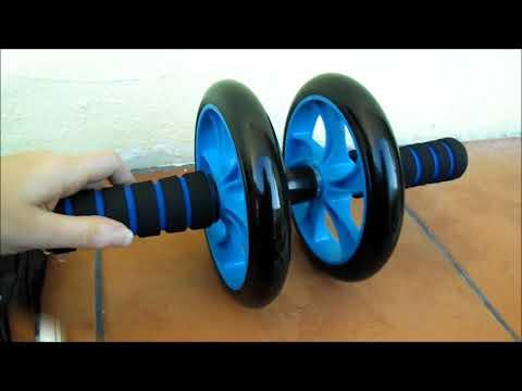 Workout Set – AB ROLLER Attrezzo per addominali + flessioni + corda per saltare ODOLAND®