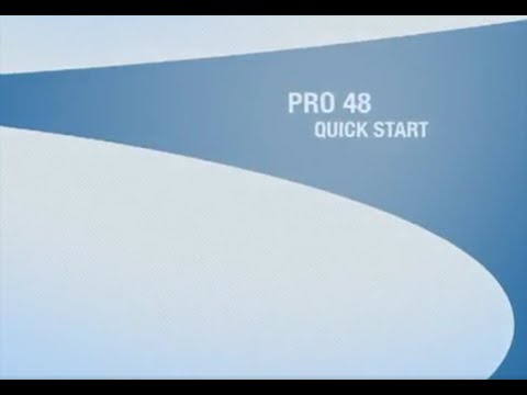Sub-Zero PRO 48 Legacy Model - Quick Start